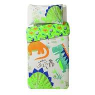 Argos Home Dino Snore Bedding Set - Toddler