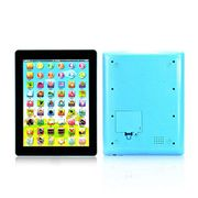 Save 90% Learning Touch Tablet Pad Computer Education Toy(Blue)