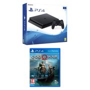 Sony PlayStation 4 Slim 1TB Console (E-Chassis) + God of War Only £299.99