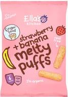 Strawberry + Banana Melty Puffs
