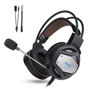 Gaming Headset for PS4 Xbox One TeckNet 3.5mm Stereo Over-Ear Gaming Headphone