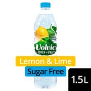 Volvic Touch of Fruit Lemon and Lime Sugar Free 1.5L