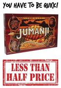 Jumanji BETTER THAN HALF PRICE WITH CODE - £11.25! BE VERY QUICK!