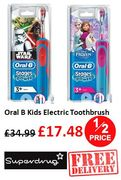 HALF PRICE & FREE DELIVERY - Oral B Kids Electrical Toothbrush