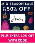HALF PRICE Joules Sale is LIVE