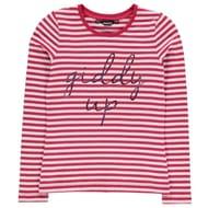 Requisite Giddy up Long Sleeve T Shirt Girls