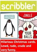 DO NOT CLICK HERE If Easily Offended! Lewd, Rude & Crude Christmas Cards