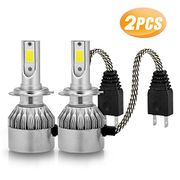 60% off 2x H7 LED Headlight Bulbs (Prime Delivery)