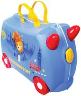 Trunki Children's Ride-on Suitcase: Paddington Bear (Blue)