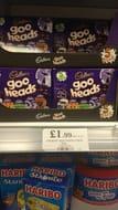 Cadburys 5 Pack of Goo Heads ( Halloween Style Creme Eggs)