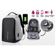 'Anti-Theft' Backpack with USB Charging Port - 3 Colours!