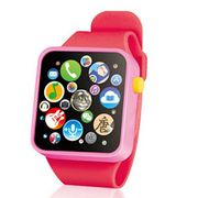 Touch Button Battery Watch for Kids