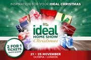 Reader Exclusive! 2 for 1 Tickets to Ideal Home Show Christmas