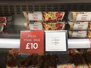 M&S £10 Pizza Meal Deal (2 Pizzas + 2 Sides)