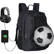 Backpack with Football Net