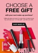 Free Gift with next Makeup Purchase