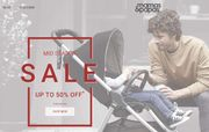Up to 50% off End of Season Sale at Mamas & Papas