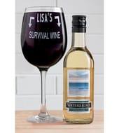 Persoanalised White Wine Set
