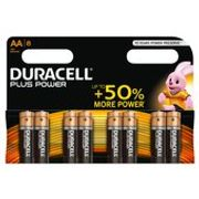 Duracell plus Power AA Alkaline Batteries 8 per Pack £7 Each or 2 for £8