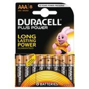 Duracell plus Power AAA Alkaline Batteries 8 per Pack £7 Each or 2 for £8