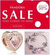 Genuine PANDORA Sale - up to 50% off at Argento