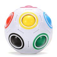 HTLY SPR Magic Rainbow Ball, Stress Reliever Ball