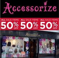 Like Pretty Jewellery & Accessories? ACCESSORIZE SALE 50% OFF ALL SALE!