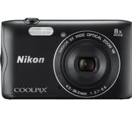 NIKON COOLPIX A300 Compact Camera - Black