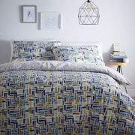Home Collection - Multicoloured 'Samuel' Double Bedding Set