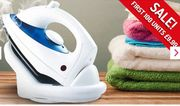 1800W Cordless Steam Iron ONLY £9.99
