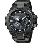 Casio Mens G-Shock Radio Controled Solar Powered Black Watch MTG-S1000V-1AER
