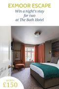 Win a Night's Stay for Two at the Bath Hotel, worth £150!