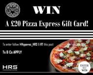 Win a £20 Pizza Express Gift Card from Hyper Recruitment