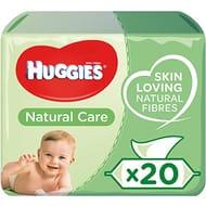 Huggies Natural Care Baby Wipes - 20 Packs (1120 Wipes Total)