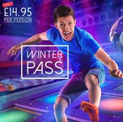 Gravity Winter Pass £14.95 Bounce Daily between 20th Oct & Dec 14th