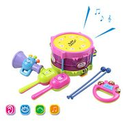 Kids 5 PCS Musical Toys Kids Instruments & Percussion Toy- Only 4.8£