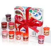 9 Scented Candle Christmas Gift Set