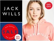 JACK WILLS Mid Season SALE Has Started. QUITE A LOT IS HALF PRICE