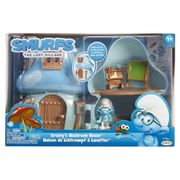 Smurfs Lost Village Brainy's Mushroom House Play Set