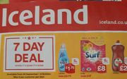 Iceland 7 Day Deal - Surf 100 Washes - £8 - from WEDNESDAY