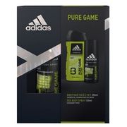Adidas Pure Game Body Spray and Wash Gift Set