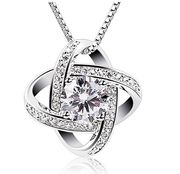 GORGEOUS!! Womens Sterling Silver Necklace!