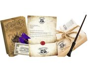 The Ultimate Hogwarts Acceptance Packae usually £19.00 Now Free plus £4.95 P&p