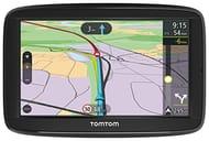 TomTom Car Sat Nav via 52, 5 Inch with Handsfree Calling & Free Lifetime Maps