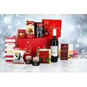 Luxury Christmas Hamper - Wine, Mince Pies, Pudding & More!