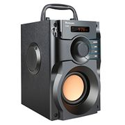 Portable Outdoor Bluetooth Speaker Wireless Stereo Subwoofer Heavy Bass Speakers