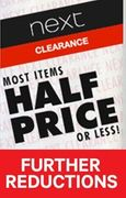 NEXT CLEARANCE - Further Reductions 75% OFF! BARGAIN HUNTING PARADISE!