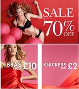 up to 70% OFF Bras, Knickers, & Nightwear. From just £2 now at Boux Avenue.