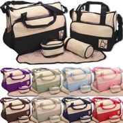 Baby Nappy Changing Bag Set (5PCS) Only £7.99