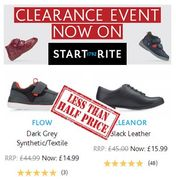 Start Rite Shoes Clearance - Better than Half Price Deals!